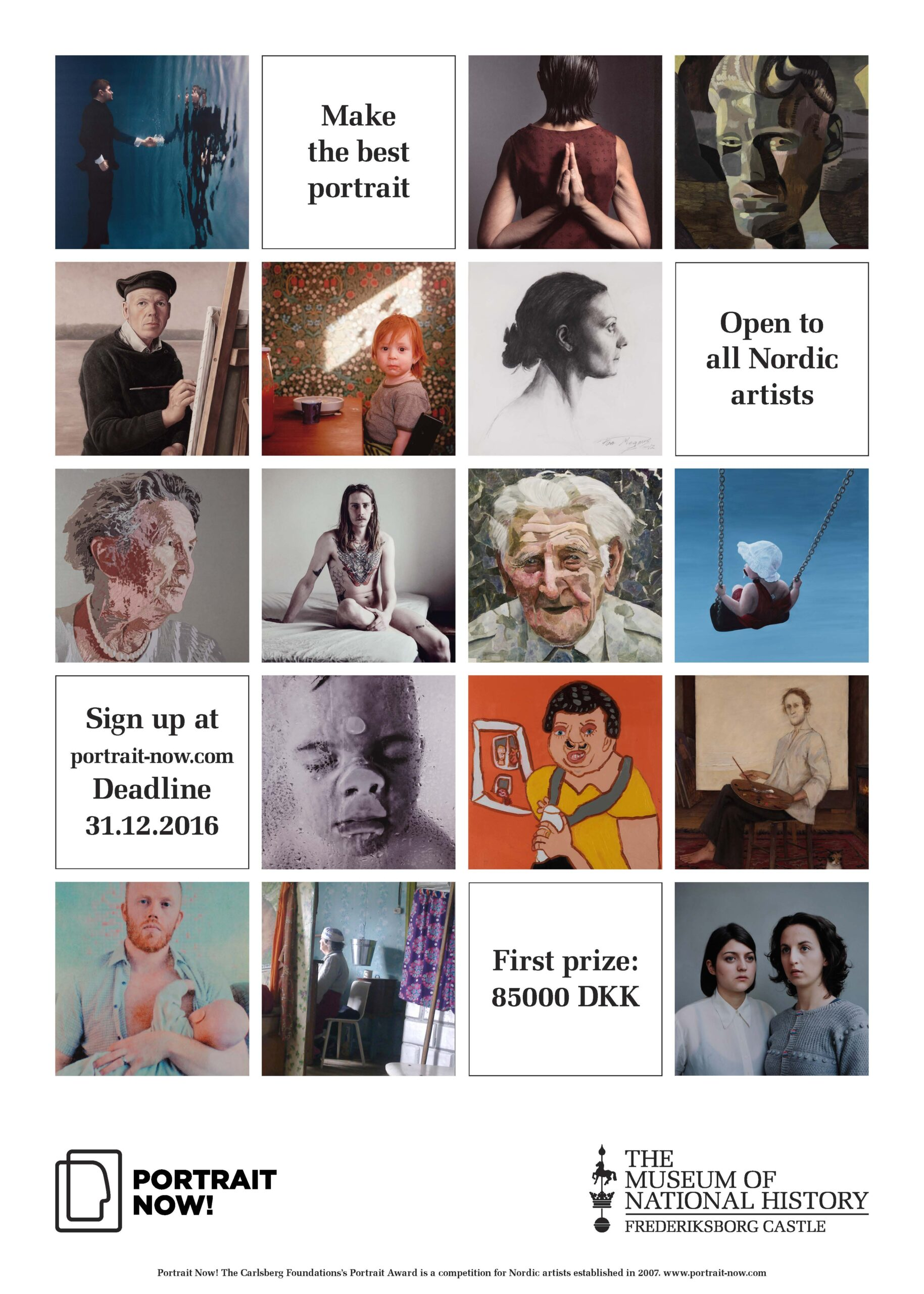 Danish museum invites Nordic artists to participate in portrait competition