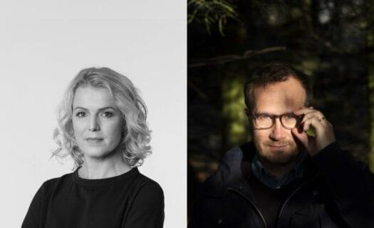 Sigridur Hagalín og Andri Snær