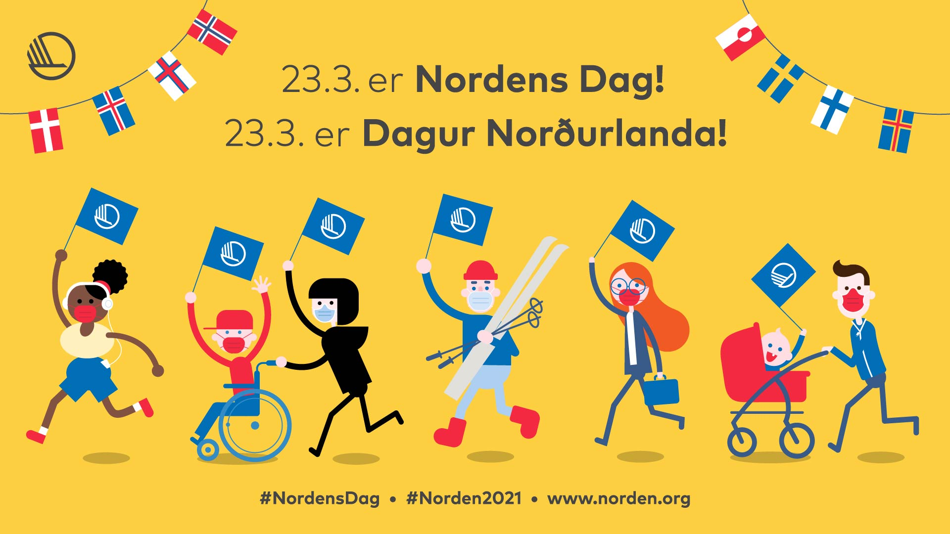 Nordic Day 23 March – various events throughout the week related to Nordic culture