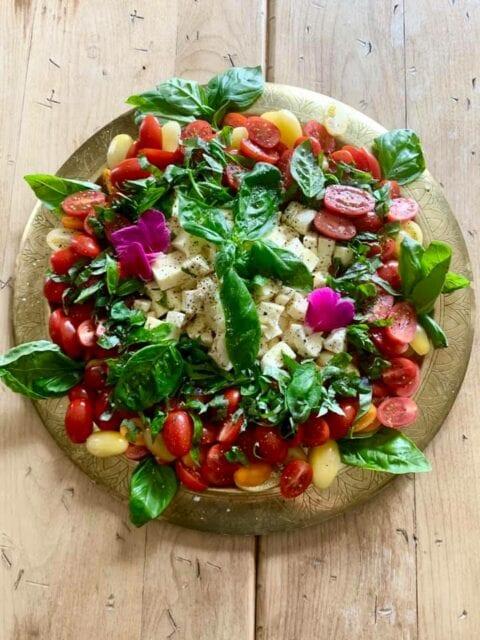 Vegetarisk skål fra Sono